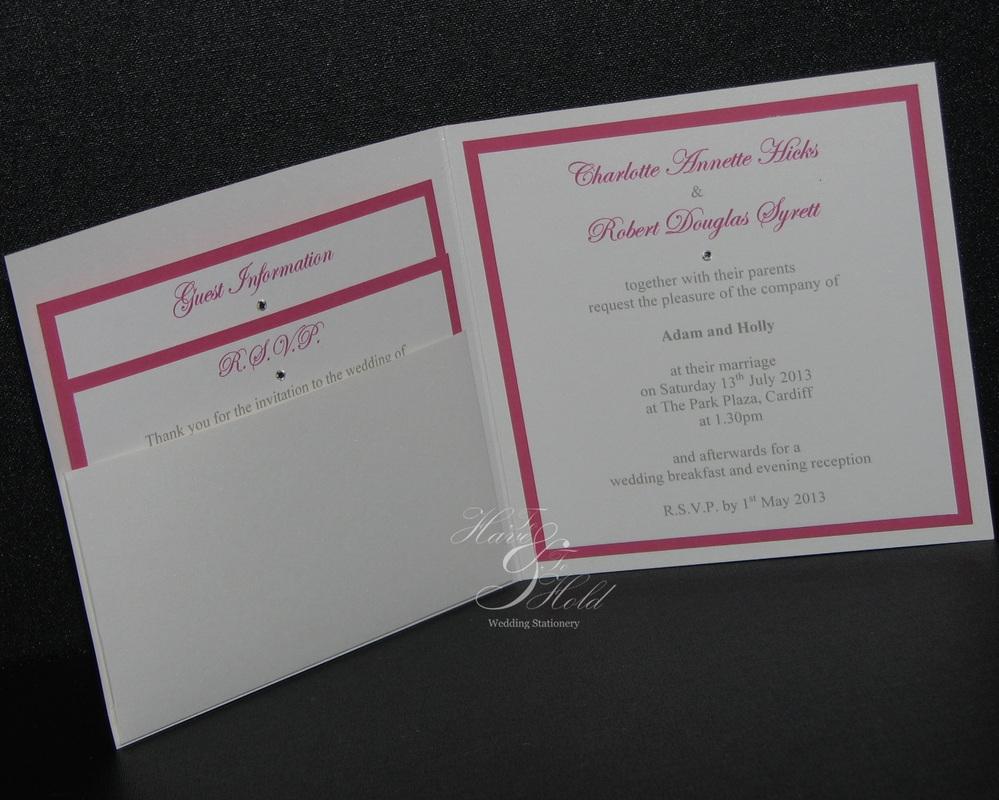 Cheap Diy Pocketfold Wedding Invitations Uk Matik For