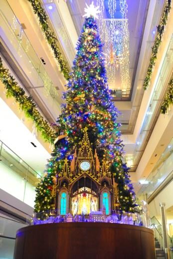 表参道ヒルズ クリスマスイルミネーション