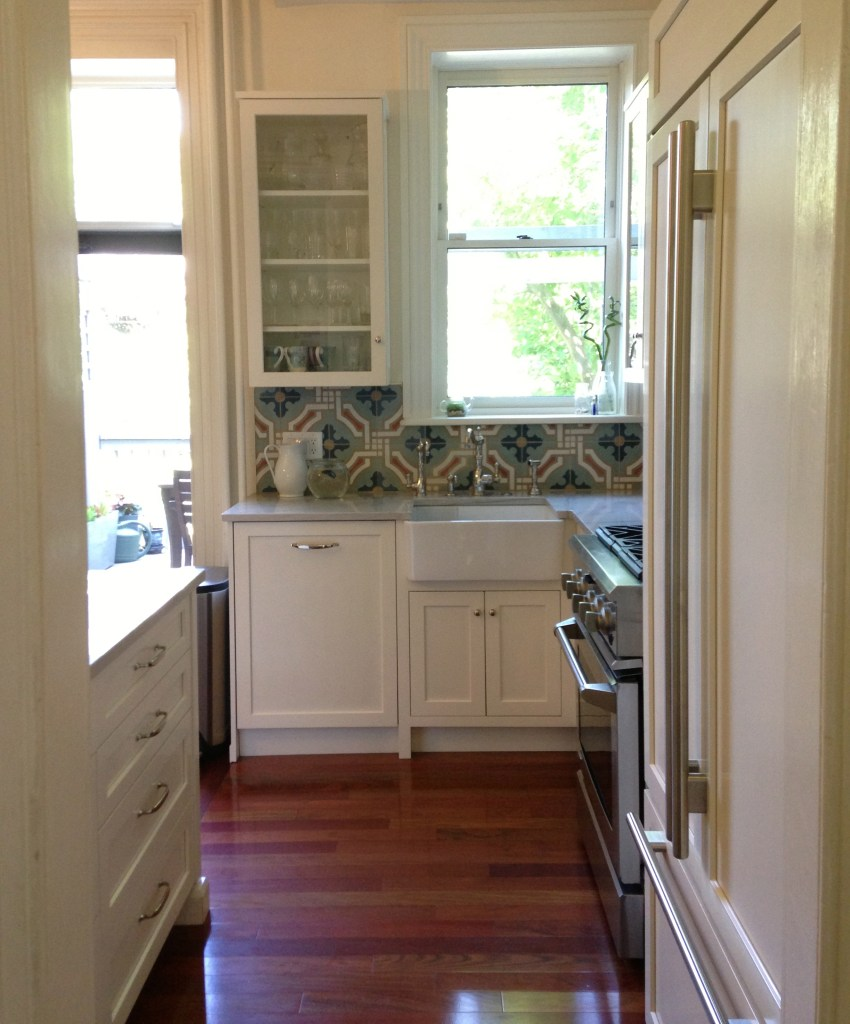 brooklyn kitchen encaustic tiles