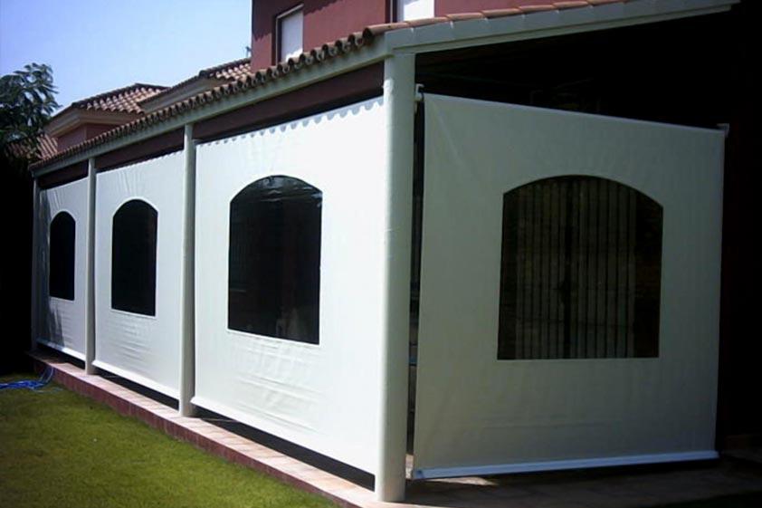 Toldos valencia venta y fabricaci n de toldos y persianas - Toldos verticales para exterior ...
