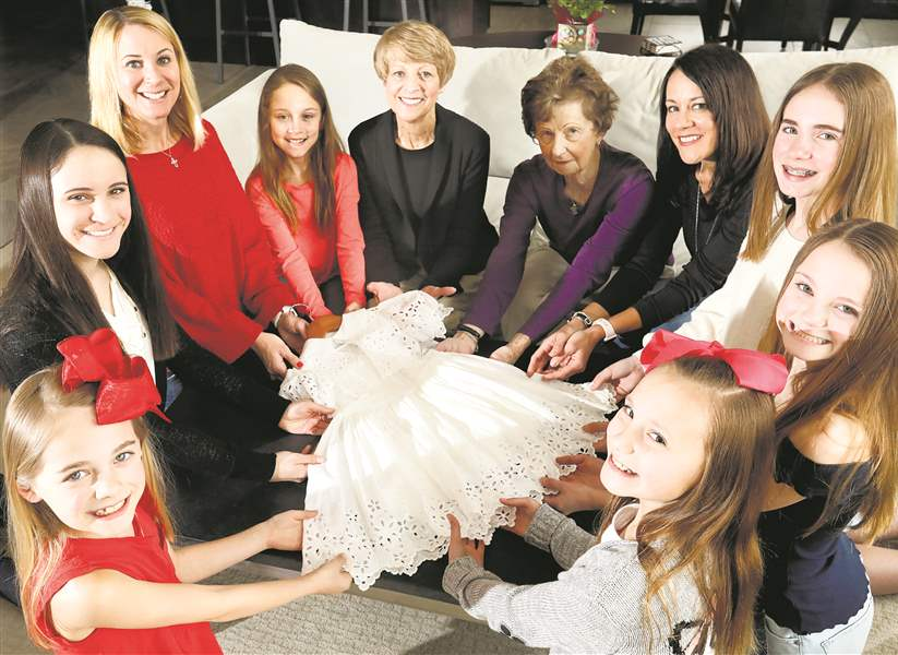 First Communion dress links 5 generations of family - The Blade