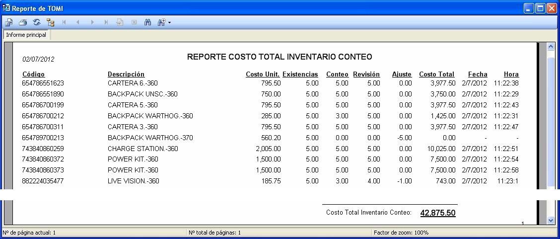 SOFTWARE PARA CONTROL DE INVENTARIOS TOMI LICENCIA \u2013 Comercio Express - formato inventario en excel