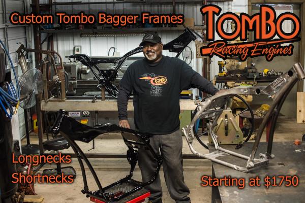 Custom Tombo Bagger Frames