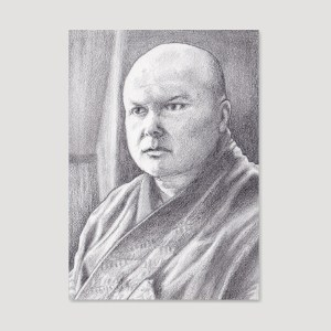 Lord Varys Sketch Card by Tom Deacon