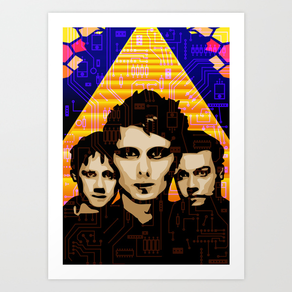 Muse Art Print by Tom Deacon