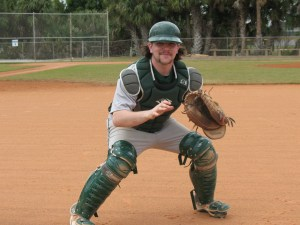 Trevor Packard continue to swing a hot bat as he had a pro of hits, a run scored and an rbi in a 7-1 win over the Northern Essex CC Knights.