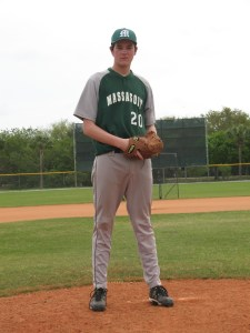 Same allowed only one earned run, while striking out ten to, earn his first Collegiate victory.