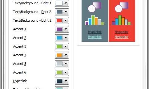 Export Powerpoint Theme Colours  Changing Default Color Palette