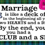 Deck of Cards marriage