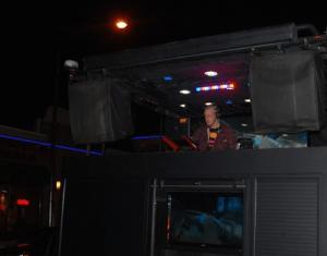 Senior Joe Masek DJs at an event. Masek (Zachary Neubauer/TommieMedia)