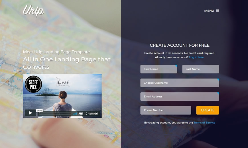10+ High Conversion Landing Page WordPress Themes for August 2017