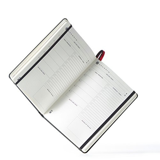 Cossac Planner - The Ultimate Daily, Monthly \ Weekly Agenda - weekly agenda