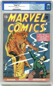 'Marvel Comics' #1