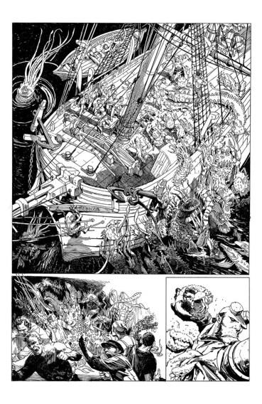 Hellboy: Into the Silent Sea 01