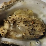 grilled oyster onion soubise