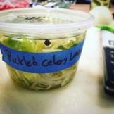 pickled celery leaves