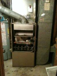 Pin Old Gas Furnace With Flame Roll Out Issues Barones ...