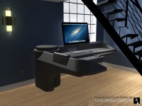 Custom Star Trek Desk Inspired by Movie & TV Sets - Tom ...