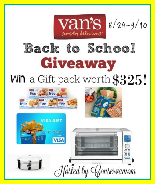 Win a $100 Visa Gift Card, Toaster Oven, and more in this giveaway!