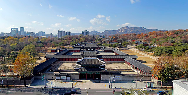 창경궁 전경 / Changgyeonggung Palace front view Panorama-04