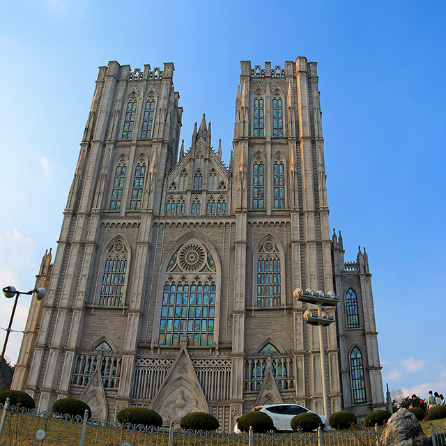 경희대학교 평화의 전당 / Kyung Hee University Grand peace palace Panorama photo #1