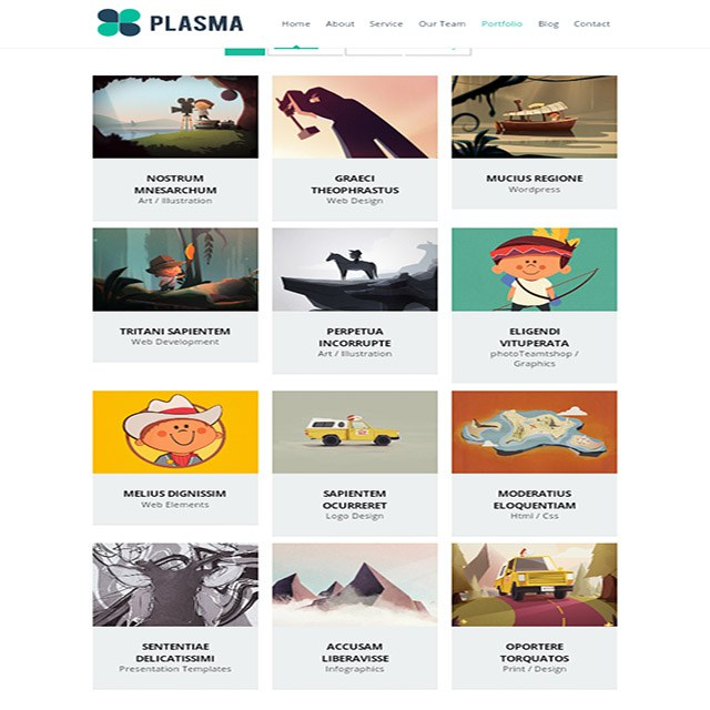 워드프레스 템플릿 | Plasma Template - 테마를 위한 무료 템플릿 worfpress-template-for-theme-build-free-file-july-03