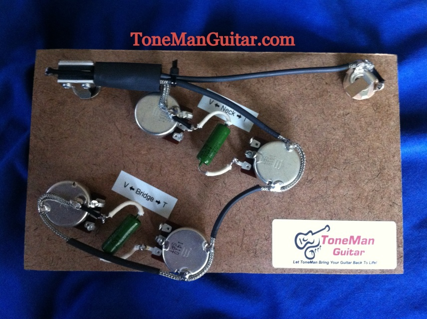 ES335 Gibson ES335 Epiphone or Casino Style Prebuilt Wiring Harness