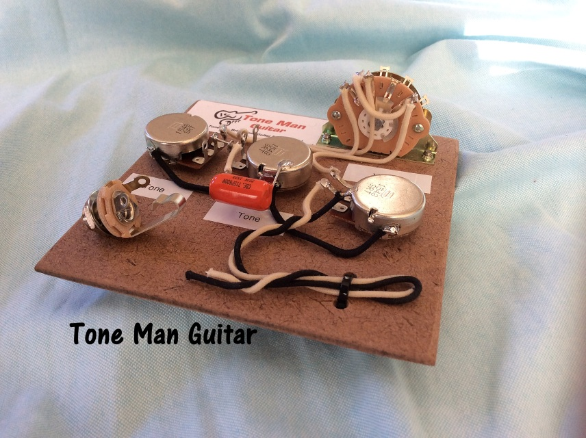 Stratocaster Fender Wiring Harness - Orange Drop Tone Cap with 5 Way
