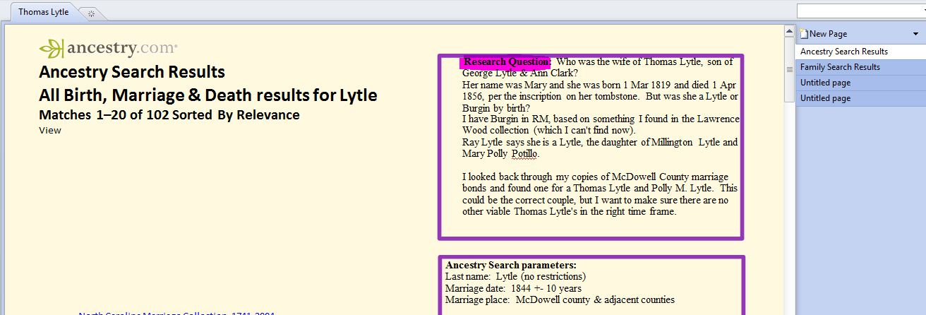 Why I (Sometimes) Like OneNote Better than Evernote - Tonia\u0027s Roots