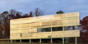 """METALMAG: """"Metal Framing and Panels Provide nearly Transparent Shelter"""""""