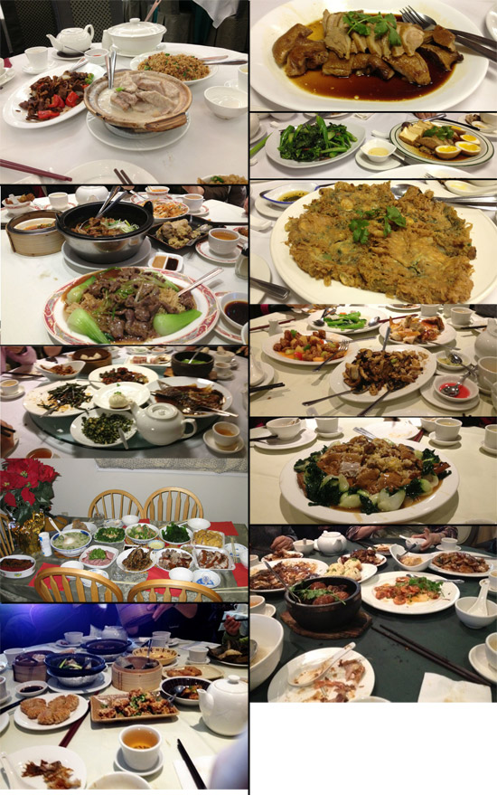 Some of the delicious food I've had this winter vacation