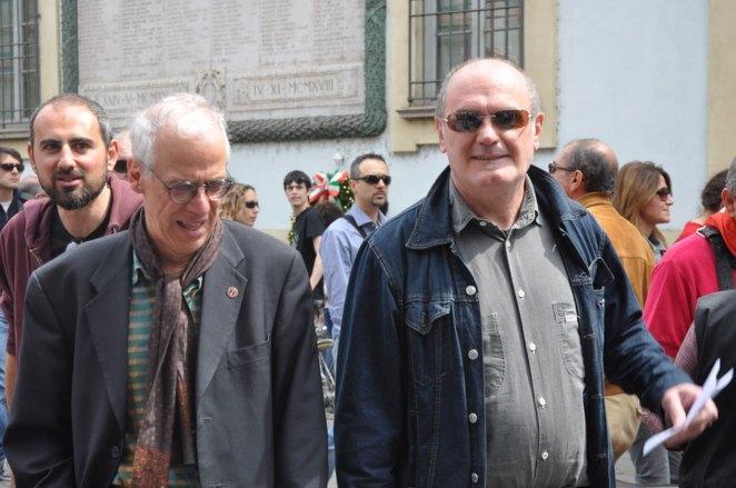 Tony Rusconi e Roberto Aglieri, Debaters 1 e 2, 2015