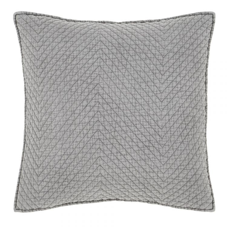 Catherine Lansfield Stone Wash Cushion Cover Grey