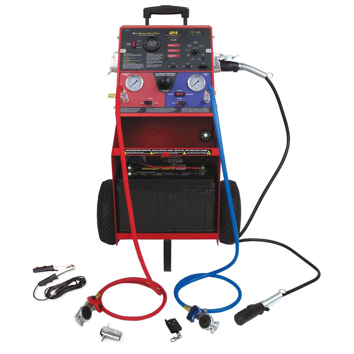 Trailer Harness Tester Auto Electrical Wiring Diagram Hopkins Towingr 48655 4wire Flat With Led Lights Abs Automotive Bearings
