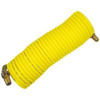 Milton 1669 Nylon Re-Koil Air Hose 1/4 In x 25 Ft 1/4 In ...