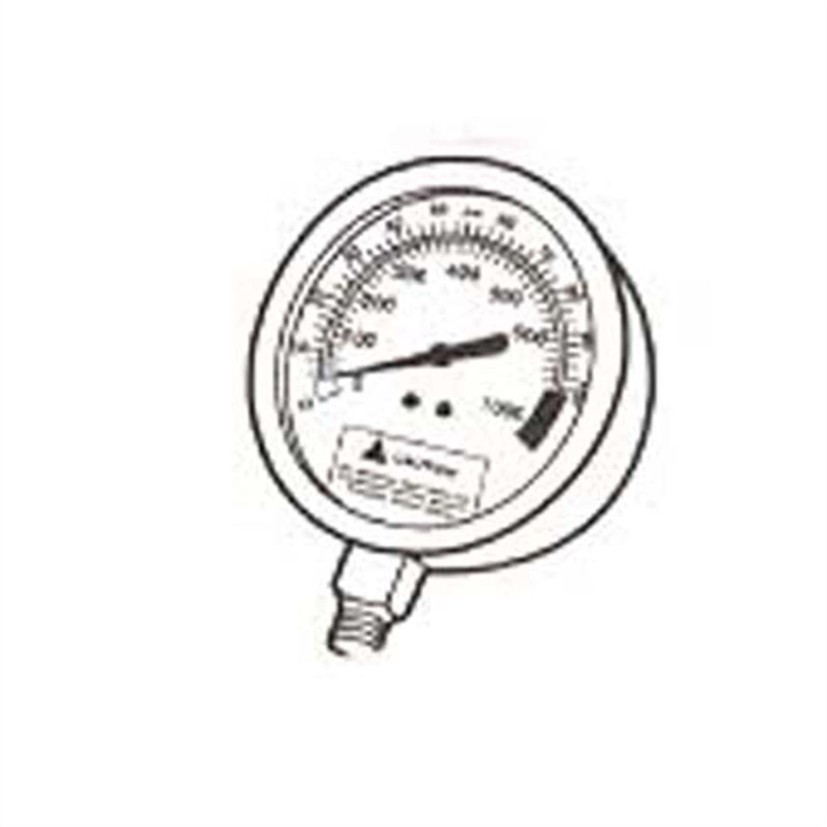 sel fuel pressure gauge