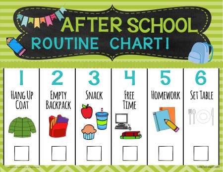 Routine Charts Self Care / Life Skills Therapy Resources Tools