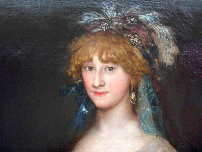 Contessa Chinchon by Goya