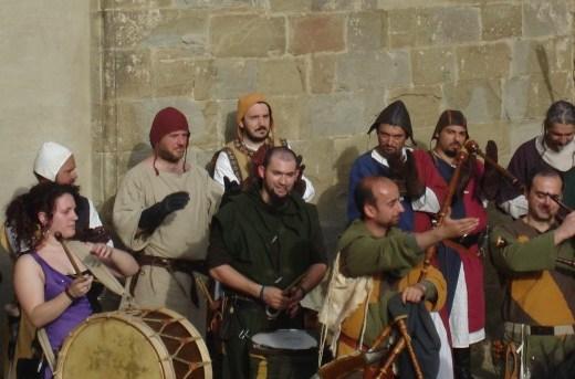 Medieval Musicians in Castiglion Fiorentino