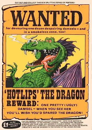 TeacherWeb® - example of a wanted poster