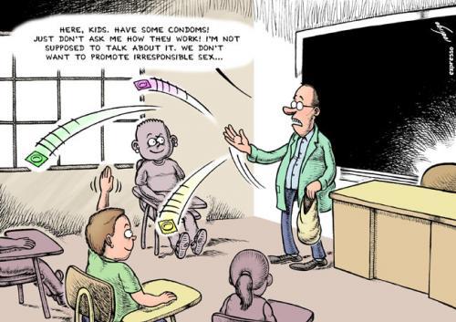 Sex education By rodrigo Education  Tech Cartoon TOONPOOL