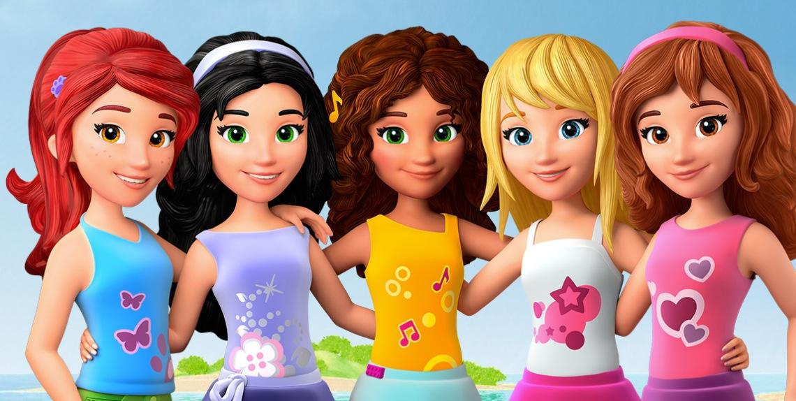 3d Wallpapers Friends Forever Quot Lego Friends Girlz 4 Life Quot Coming To Combo Pack Dvd