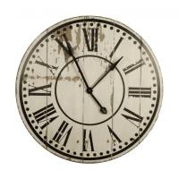 Distressed Finish Large Wall Clocks: Large Wall Clocks ...