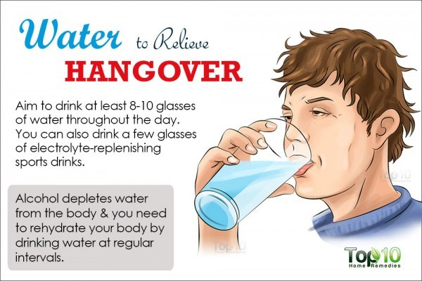 How To Get Rid Of A Hangover Top 10 Home Remedies