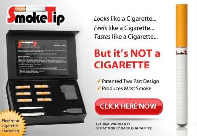 SmokeTip e cigarette