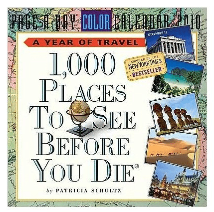 1000 Places to Visit Before You Die