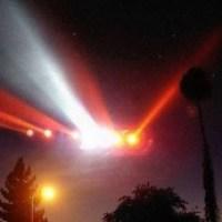 Rectangle UFO Over Mountain Creek Ski Resort