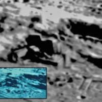 Alien Moon Base Captured By China Moon Orbiter