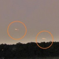 Alien Craft Over Blemont, North Carolina