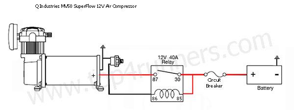 2007 Toyota 4Runner Onboard Air Compressor